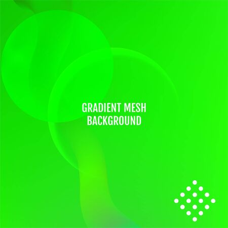 Green Minimal covers design. Abstract Green light vector background.