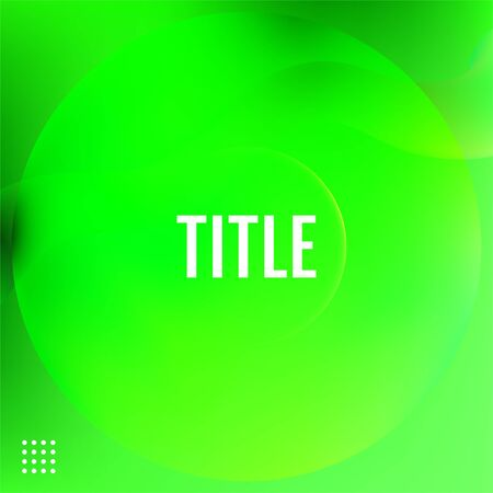 Green Minimal geometric background. Green Minimal covers design. Illustration
