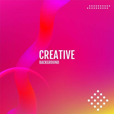 Future geometric patterns. Colorful covers design.