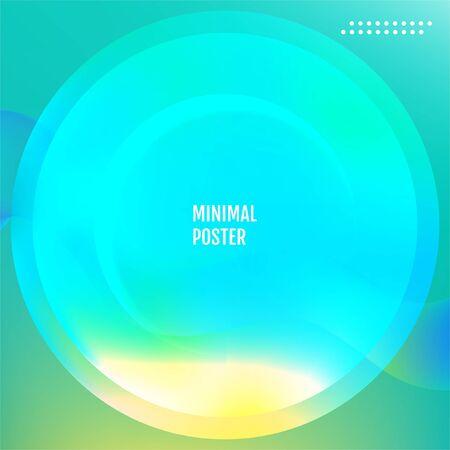 Nature Minimal covers design. Nature geometric background. Illustration