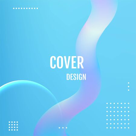 Blue Abstract fluid color pattern Blue Minimalistic design,modern diagonal abstract background.