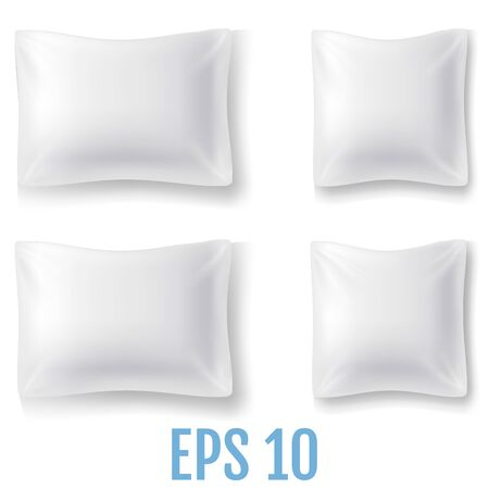 Set of Mock Up of a Realistic Pillows.