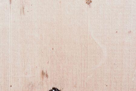 Dark brown scratched wooden board. Wood texture Banco de Imagens