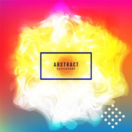 Abstract gradient background with trend colors. Vector.