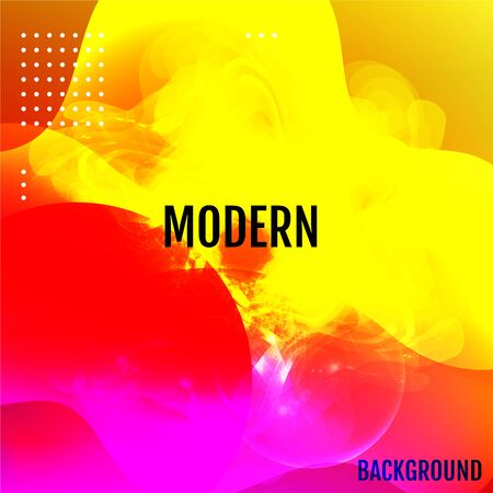 Modern color abstract background. Vector gradient mesh.