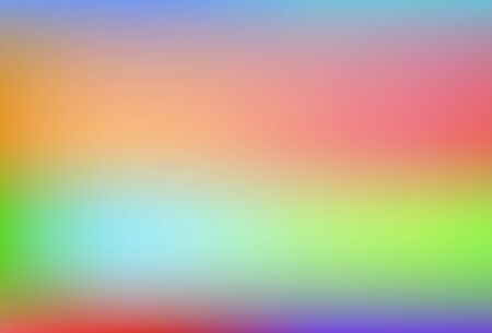 Blurred gradient mesh background in bright rainbow colors. Gradient mesh blurred background in soft rainbow colors. Abstract colorful smooth banner template.