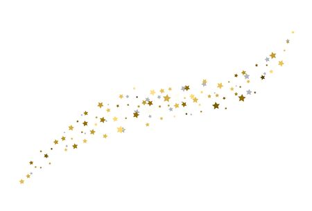 Starry a white background. Vector