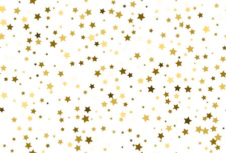 Seamless golden star pattern. Vector 向量圖像