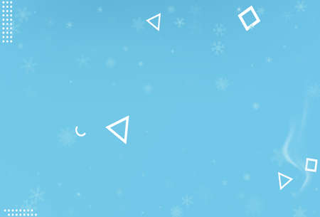 Winter christmas snowflake background. Vector. 版權商用圖片 - 159636468