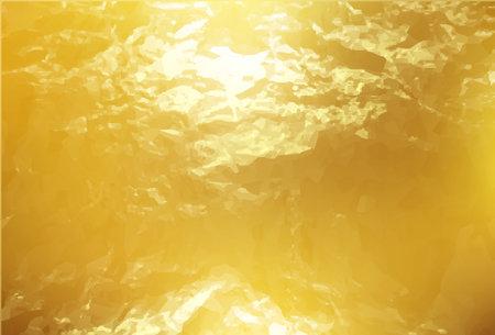 Gold foil digital paper. Gold textured background.