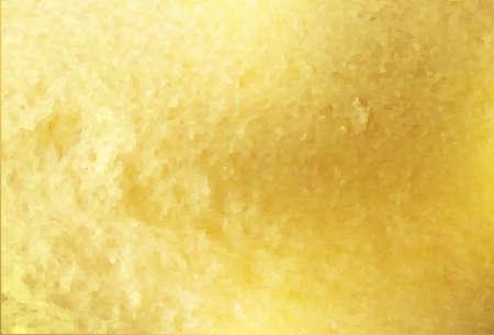Golden foil background template. Vector.