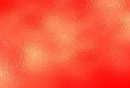Red metal, red foil. Vector illustration. Иллюстрация