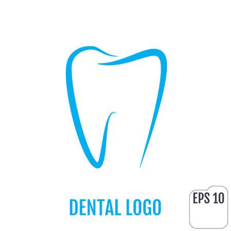 Dental logo. Dental clinic icon design. Tooth