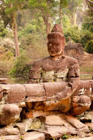 Buddha Statue, Angkor Wat, Cambodia