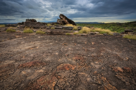 nt: Landscape of Kakadu National Park before storm, Australia