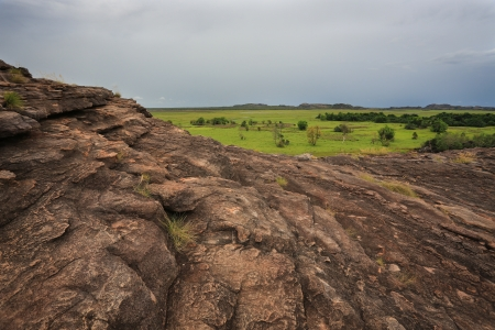 Landscape of Kakadu National Park, Australia photo