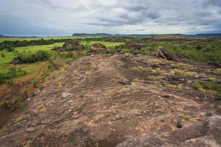Landscape of Kakadu National Park, Australia photo