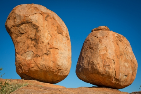 barrow: Devils Marbles, Australia Stock Photo