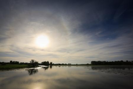 Landscape of Kakadu National Park,Yellow Waters, Australia
