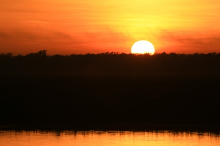 Sunrise at Yellow Waters, Kakadu National Park, Australia Stock Photo - 14944150