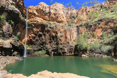 Waterfall in Australian Outback