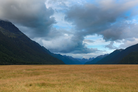 Natural landscape of New Zealand Stock Photo