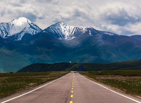 roadway along Xinjiang