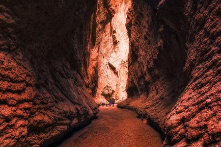 Mysterious Grand Canyon of Tianshan Mountain, Kuche, Xinjiang