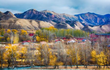 Autumn scenery of Xinjiang