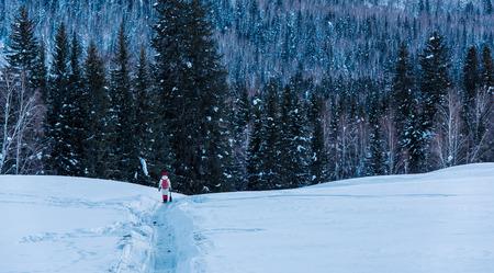 Xinjiang snow view