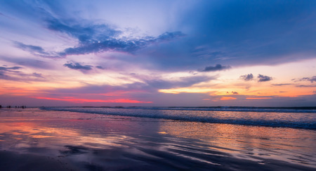 beach side scenery in Bali, Indonesia