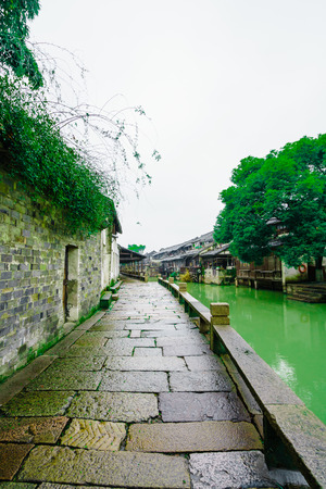 Wuzhen scenery landscape view Stock Photo