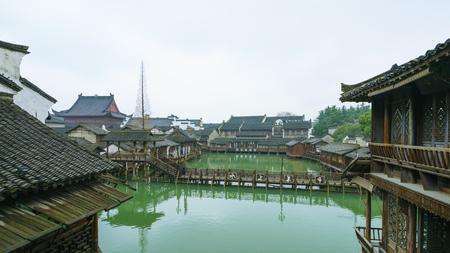 Oude stad van Wuzhen Stockfoto - 94169063