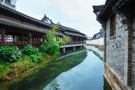 Wuzhen landschap Stockfoto - 94190864