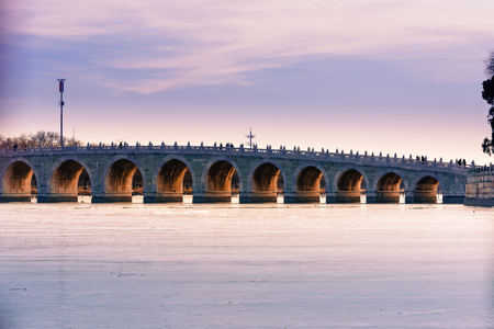 seventeen arch bridge in Summer Palace