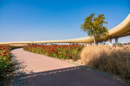 Santai Park scenery 写真素材 - 112651384