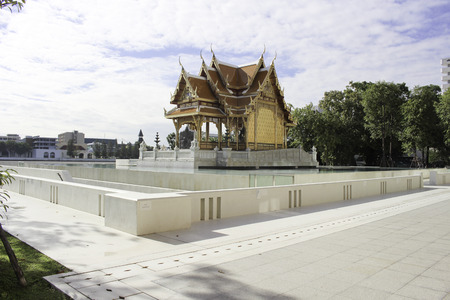 civilized: Statue of King Rama 5, which is revered in Thailand for everyone. Because he is the most beloved of the people of Thailand. He made par with other civilized country with prosperity. And the abolition of slavery Freedom has made public until today.