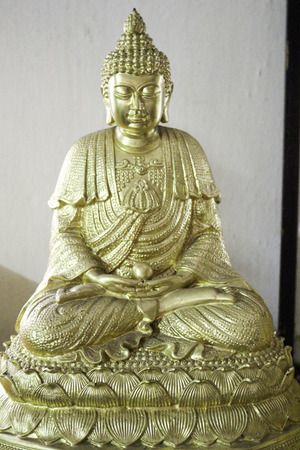signify: A statue of a meditating Buddha. Signify When we concentrate causing intelligence Overlooking the issues and be edited.