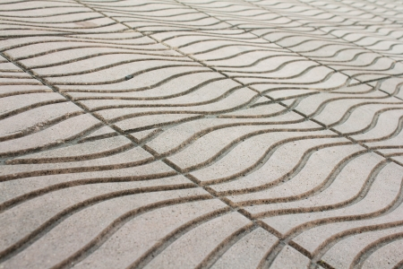 bedrock: photo of abstract stone curves background