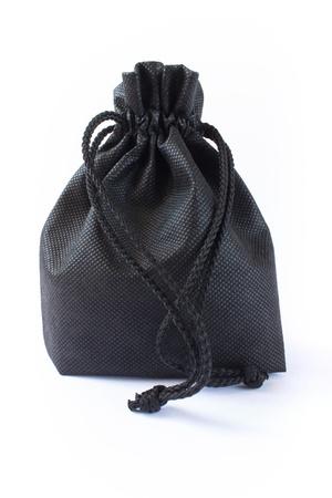 murk: Photo of black fabric bag