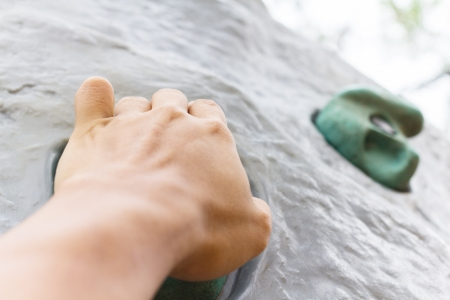 Photo of hand of rock climber Stock Photo - 19091020