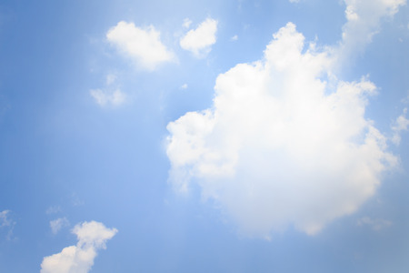 nimbi: Photo of clear blue sky with clouds