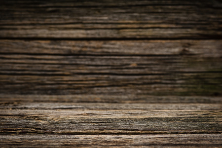 finite: Old wooden table background. Good for product mock ups or advertising. Blog or website theme. Stock Photo