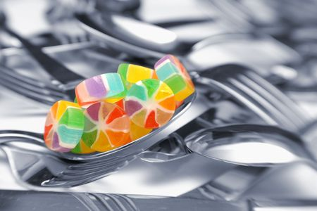Candy on Spoon