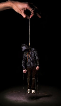 Hanged people photo