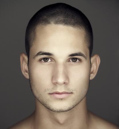 Jonge man gezicht