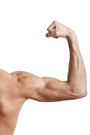bicep: Close up of man