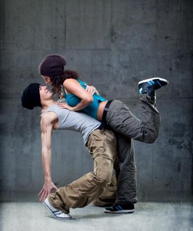 Passion dance couple  Standard-Bild
