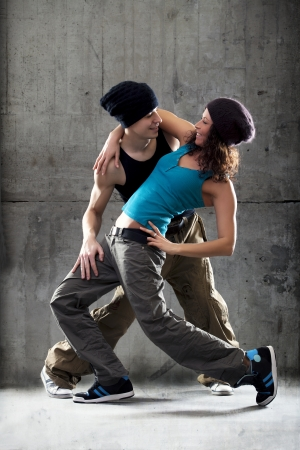 Passion dance couple  Stock Photo