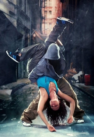 baile hip hop: Pasi�n pareja de baile